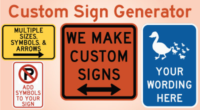 Online Traffic Sign Interstate Shields