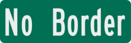Sign with No Border