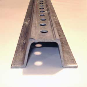 Galvanized Steel U-Channel Sign Post Signs