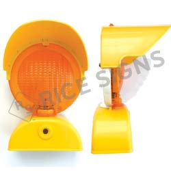 Type B LED High Intensity Barricade Light with Hood