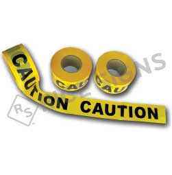 Barricade Tape - Printed with CAUTION