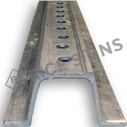 2# Per Foot Galvanized Steel U-Channel Sign Posts