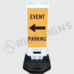 Portable Event Parking Sign Double Sided