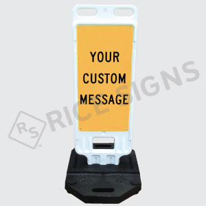 Custom Portable Sign Double Sided