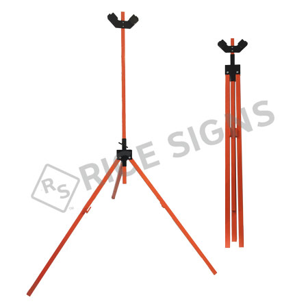 Heavy Duty Tripod Sign Stand