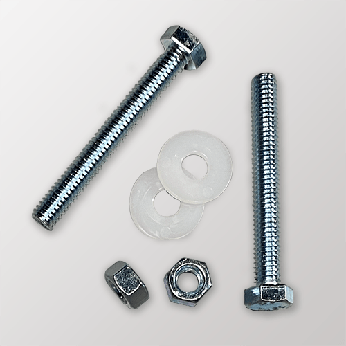 Zinc Plated Steel Sign Mounting Hardware